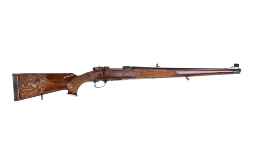 engraved bolt action rifle Mauser m 85 exclusive