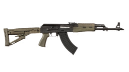 m70 firearm ak semi automatic in olive drab