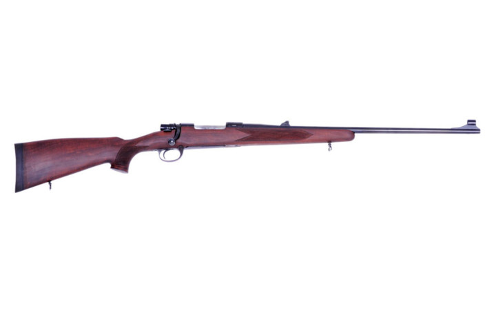 standard bolt action Mauser rifle wood m 70
