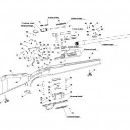 Parts bolt action chart exploded view lkm85