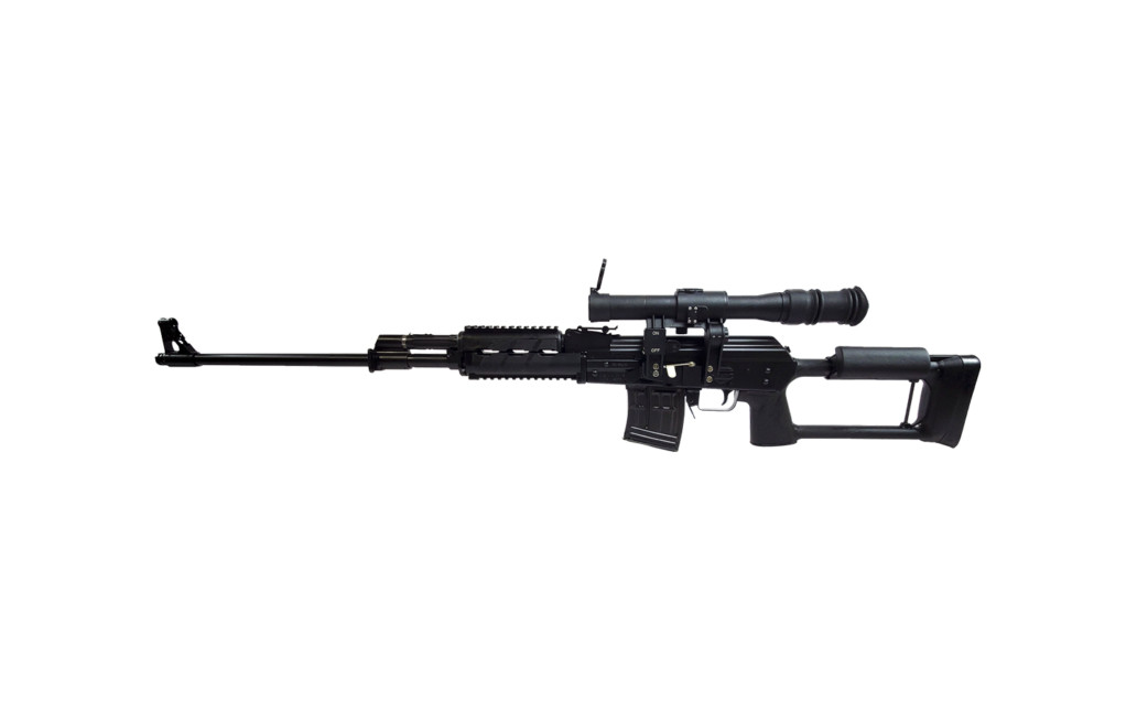 M91 Sniper rifle blued left angle