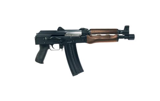 zpap 85 ak pistol firearm dark walnut right