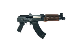 zpap 92 firearm ak pistol dark walnut right