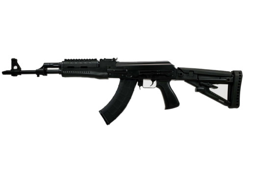 m70 firearm pistol ak BLK polymer left angle