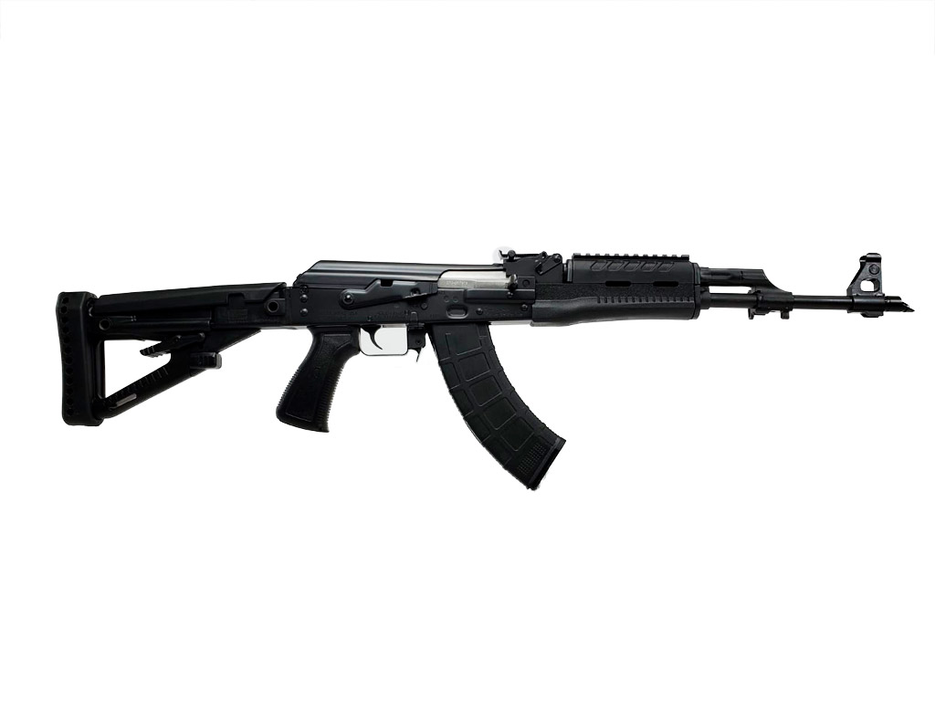 m70 firearm pistol ak BLK polymer right angle