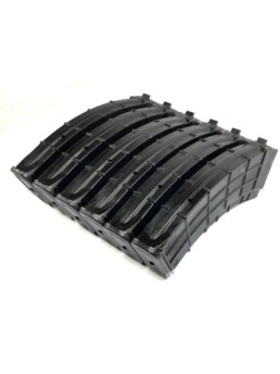 polymer ak 7.62x39mm magazine 6 pack angle view