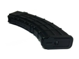 polymer 7.62x39mm magazine bottom steel plate alt angle view