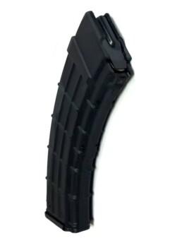 polymer ak 7.62x39mm magazine steel follower top view