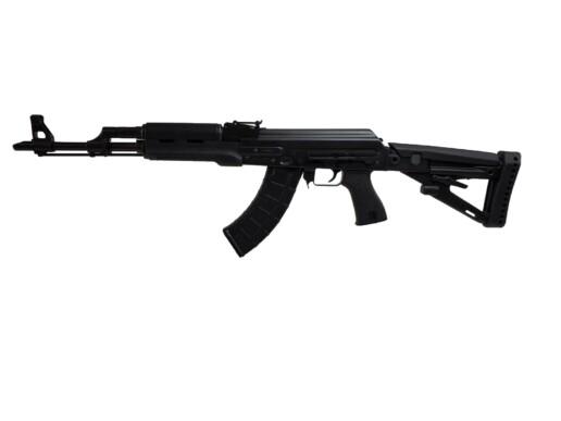 black ak zpap zastava m70 7.62x39mm polymer furniture left angle