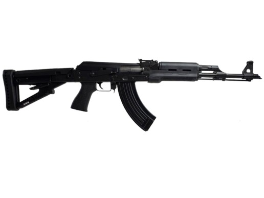 black ak rifle zpap zastava m70 7.62x39mm polymer main angle