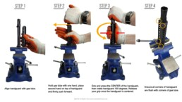 chart how to assemble install upper hand guard gas tube easy
